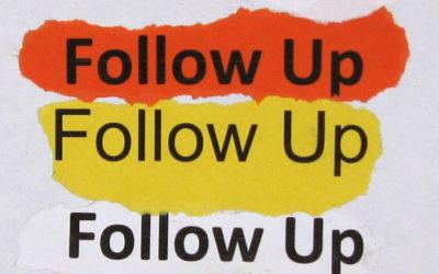 Follow-up funnel in 7 stappen
